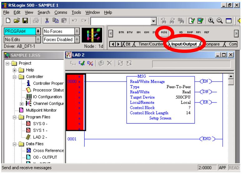 Setup Of PCCC Communication To Series 9xxEN-60xx I/O Modules
