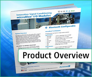microBlox I/O Modules Overview Brochure