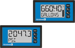 Loop-Powered Isolator/Alarm with Large LCD Display Acromag VPM2000