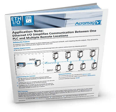 Read the latest industrial I/O, signal conditioning, and embedded I/O processing App Notes from Acromag.