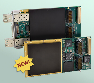 New XMC FPGA Modules with Write-Protected Configuration Memory for Enhanced Security