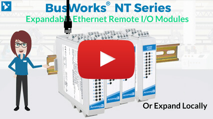 New Expandable Ethernet Remote I/O Modules Video
